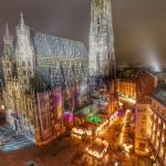 Vienna Weihnachtsmarkt at Stephansplatz